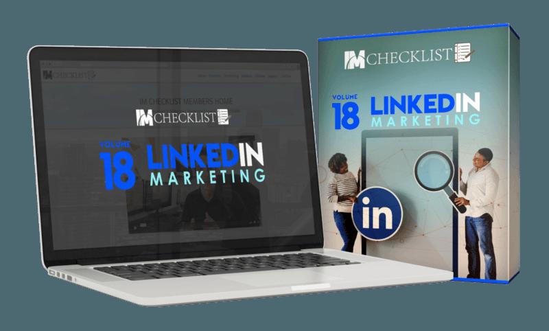 IM Checklist LinkedIn Marketing