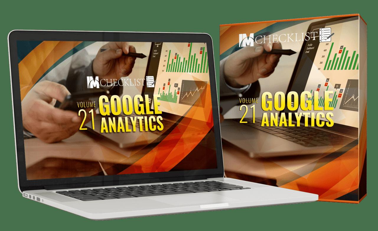 IM Checklist Google Analytics